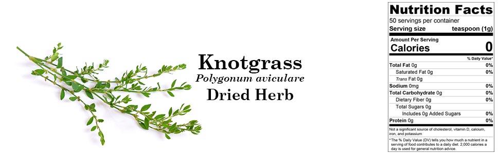 Organic Knotgrass (Polygonum aviculare) Dried Herb 50g 1.76oz