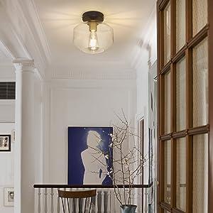 Semi Flush Mount Light For Dining Room
