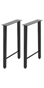 metal desk legs