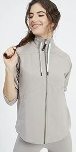 High Neck Jacket for Women