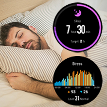 smartwatch sleep monitor