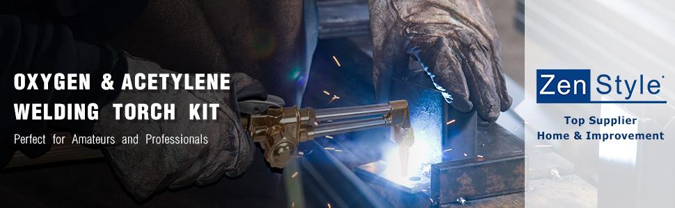 gas cutting torch kit