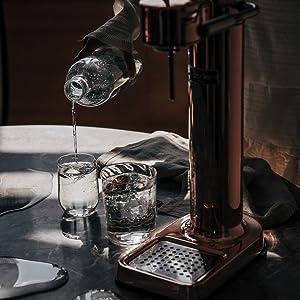 Aarke, Soda stream, sparkling water, sparkling water maker, water carbonator,sodastream