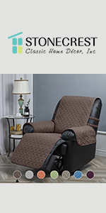 reversiable recliner cover