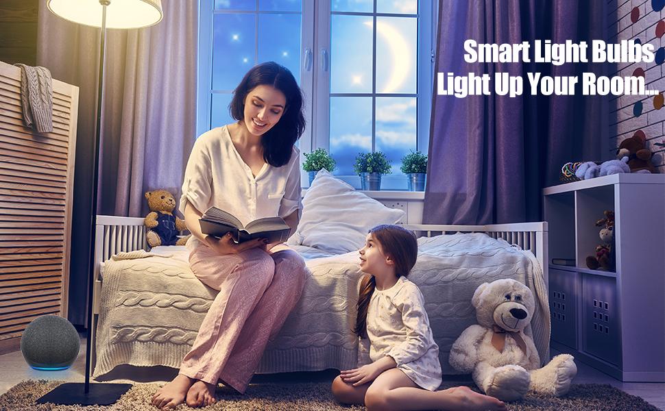 Smart Light Bulbs Light Up Your Room