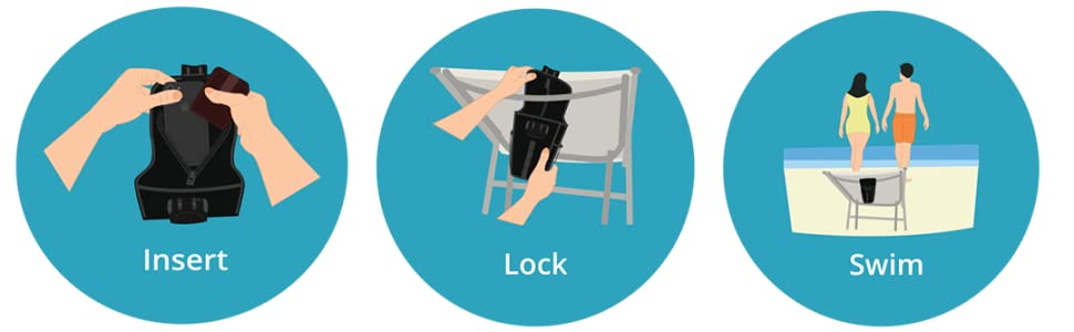 flexsafe aquavault portable personal safe