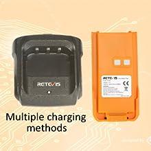 Multiple charging methods of RT29
