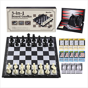 FOLDING CHESS BOARD WITH STRONG MAGNETISM