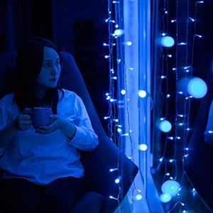 indoor curtain lights