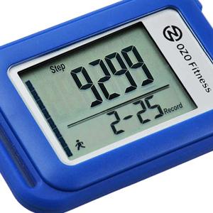 SC 3D Pedometer, OZO Fitness, 30 day memory, step counter, pedometer, tracker, seniors, women kids
