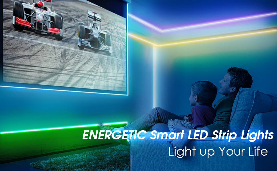 ENERGETIC LED Strip Lights