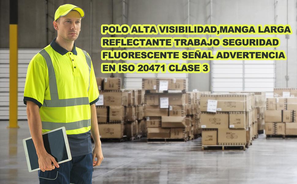 AYKRM Alta Visibilidad Camisetas y Polos (Amarillo, M): Amazon.es ...
