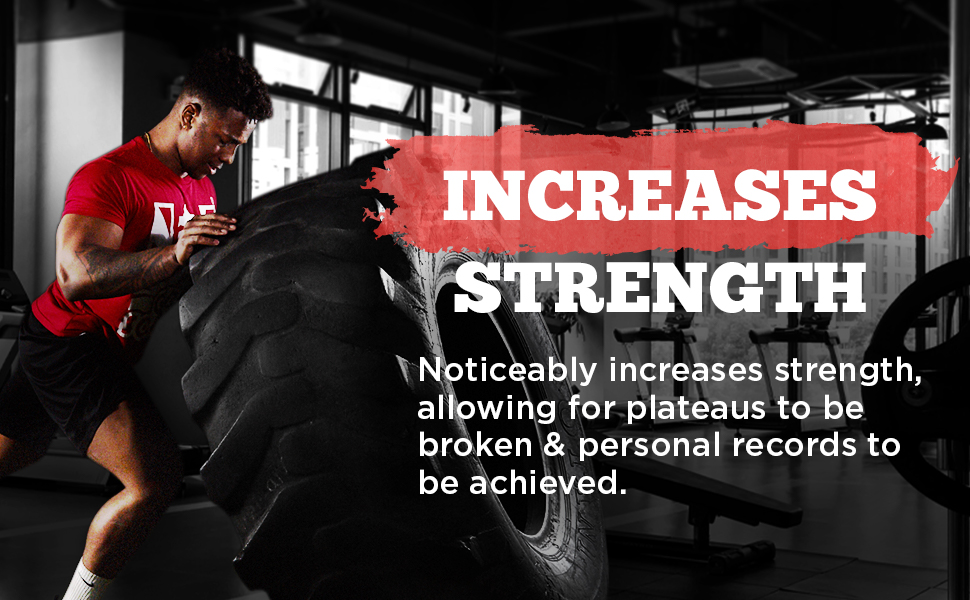 increase strength, get stronger