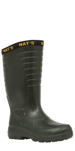 Rain Boots for Men, Farm boots, Waterproof Boots, rubber farm boots men, fishing boots, Nat's boots