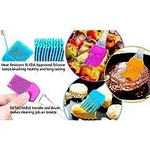 multi purpose brush and spatula set