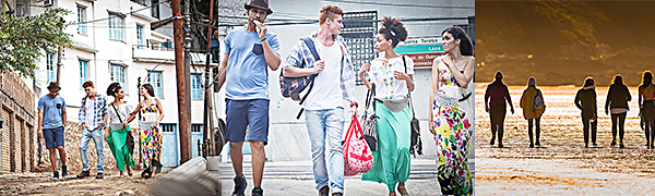 fb67e9e53cb Realer fanny pack for women leather waist bag fashion leather bum bag