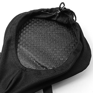 Anti-skid leather and 2 extra straps can effectively prevent the bicycle seat cover from sliding