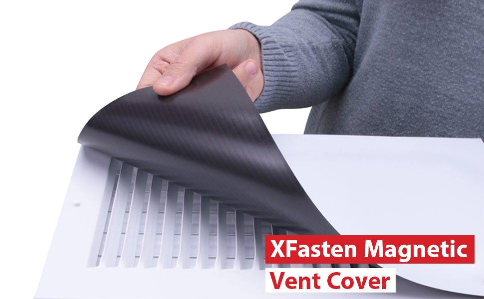 Fabulous Xfasten Magnetic Vent Cover Industrial Grade Magnets For Sidewall And Floor Vents For Rv Home Hvac Ac And Furnace Vents 8 Inch X 17 Inch Pack Home Interior And Landscaping Spoatsignezvosmurscom