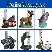 rain gauge, blue bird, bird, elk, buck, fish, trout, sea turtle, frog, lotus, flower