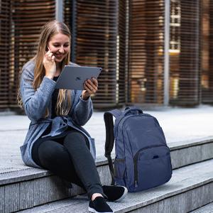 School Backpack for girls/boys blue