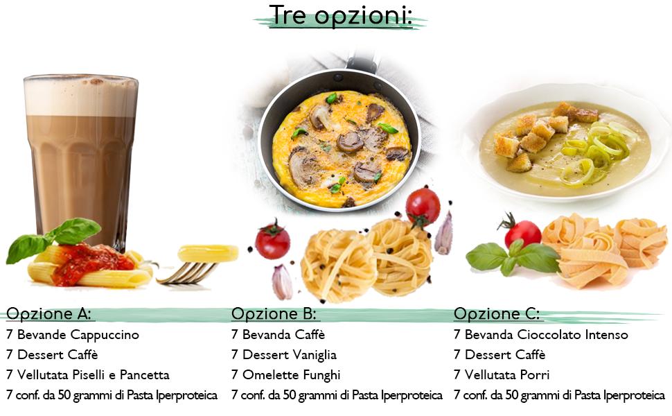 dieta iperproteica da 600 calorie