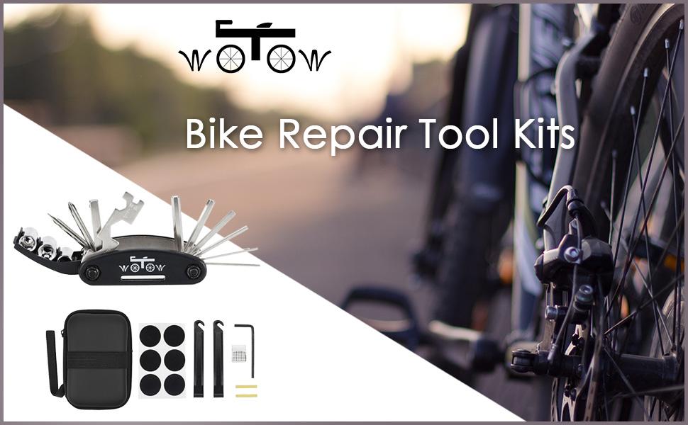 FIX PROBLEMS. BICYCLE REPAIR MULTITOOL KIT 30 IN 1 MULTI TOOL CHANGE WHEELS