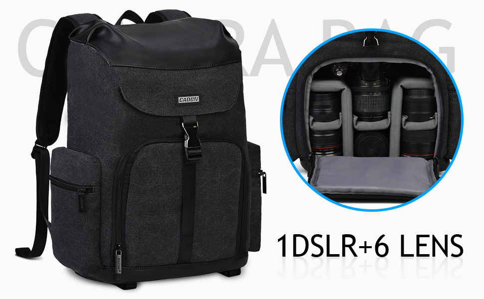 CADeN kamerarucksack for Canon nikon and sony