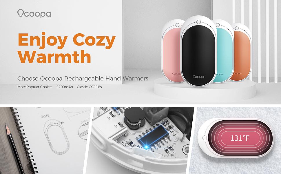rechargeable hand warmers ocoopa