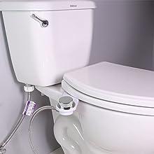 reinstall the toilet seat