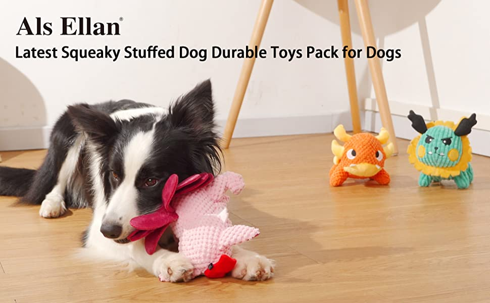 DOG SQUEAKY TOYS