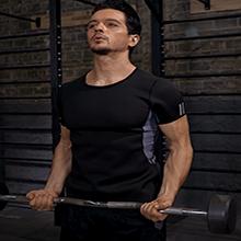 Hot sweat vest slimming sauna shirt body shaper for men Neoprene sweat sauna suit body vest