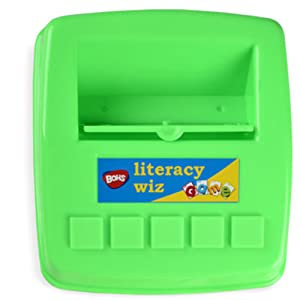 Holder with Flap - BOHS Literacy Wiz -Lower Case Sight Words - 60 Flash Cards - Preschool Language Learning Educational Fun Game Toys