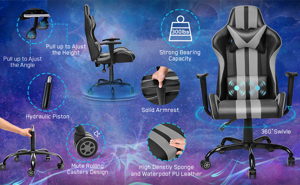 video gaming chair computer gaming chair