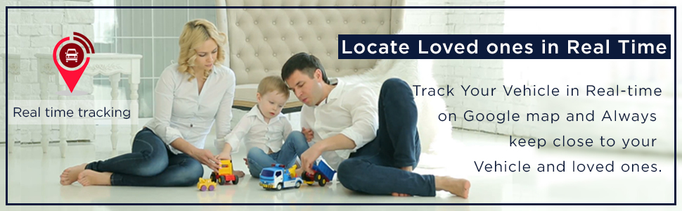 Locate loved ones in Real time