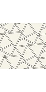nextwall wallpaper, peel and stick, peel and stick decor, geometric wallpaper, removable wallpaper