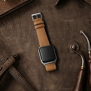 compatible apple watch leather band
