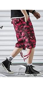 TOSKIP Men's Cargo Shorts Cotton Twill Multi Pockets Outdoor Wear