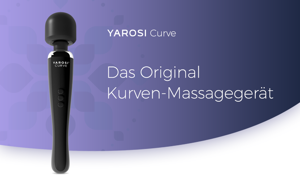das orginal massagegerat yarosi massage wand