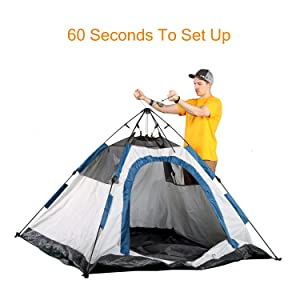 A2 QUICK UP Camping Tent