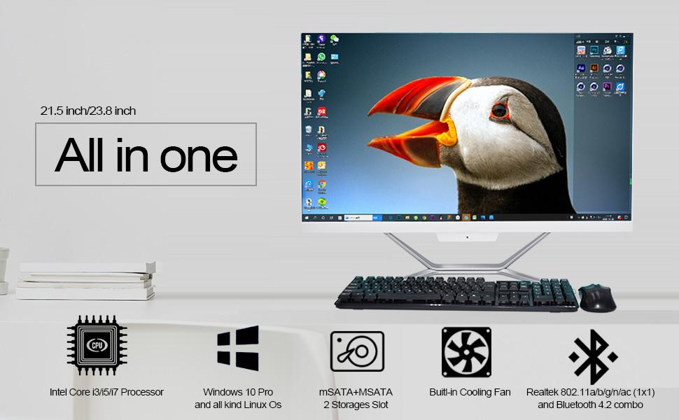all-in-one desktop pc
