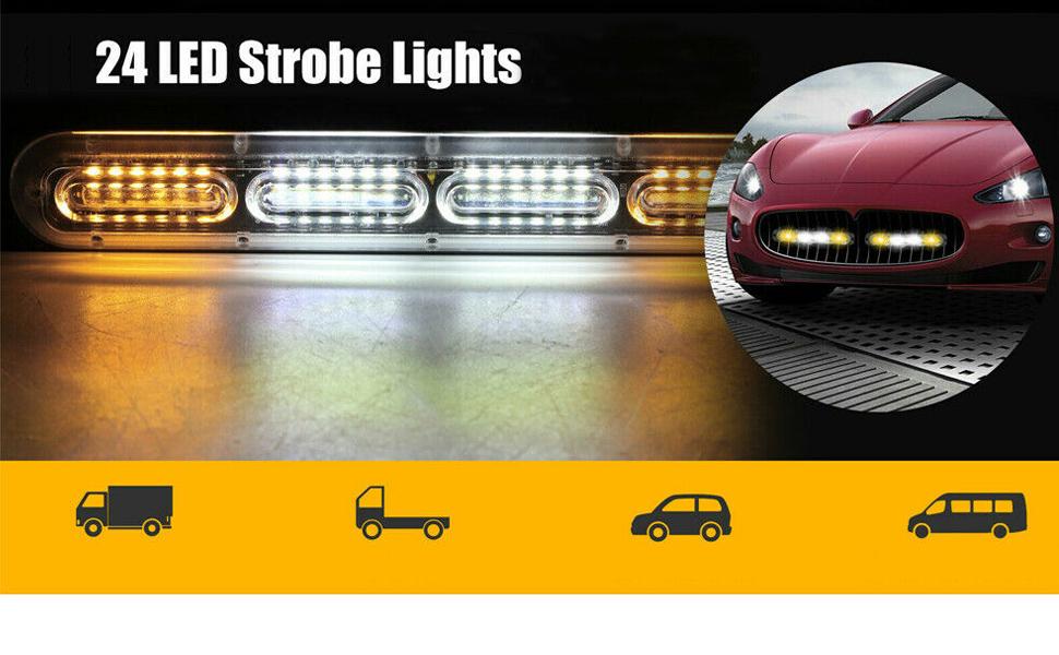 24 led strobe light