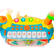 Tooni Jamz Kids Toddlers Keyboard Drum Set Musical Play Sounds Xylophone Keys