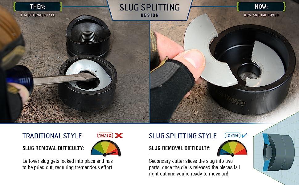 TEMCo Industrial Slug Splitter Punch Design