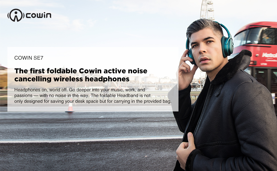amazon com cowin se7 active noise cancelling headphones bluetooth headphones wireless headphones over ear with microphone aptx comfortable protein earpads 30 hours playtime for travel work teal home audio theater cowin se7 active noise cancelling headphones bluetooth headphones wireless headphones over ear with microphone aptx comfortable protein earpads 30