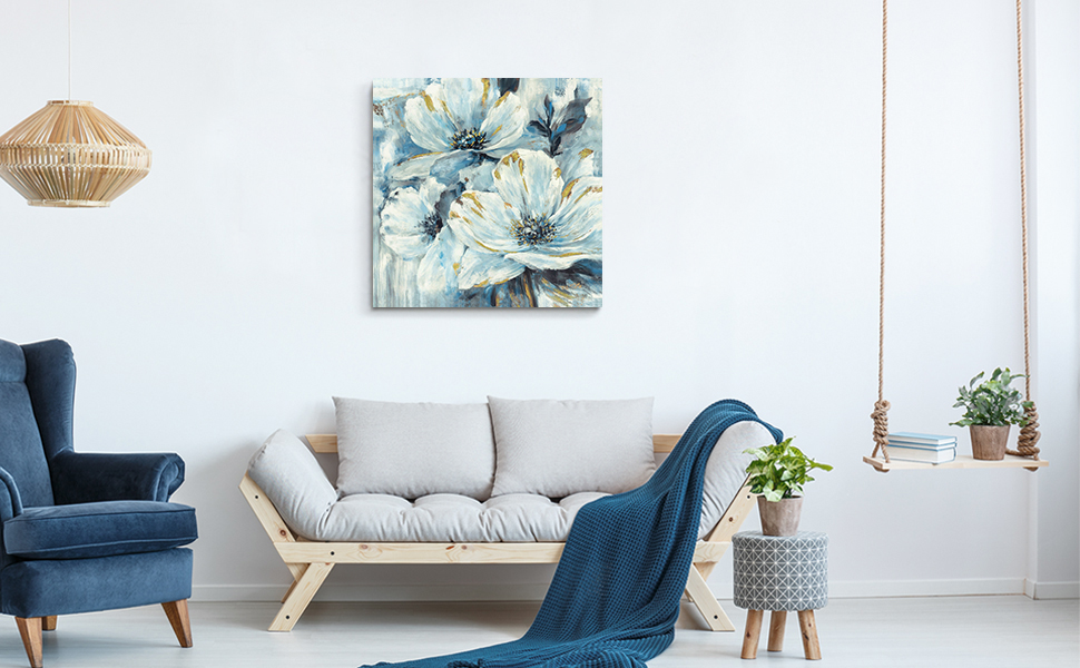 floral wall art for kitchen