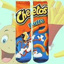 cheetos puff socks food socks