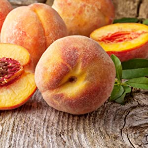 Uncle Henry's Premium Farmers Market Products Freeze Dried Fruits Peach