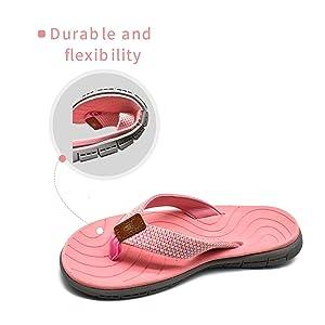 womens beach flip flops 6
