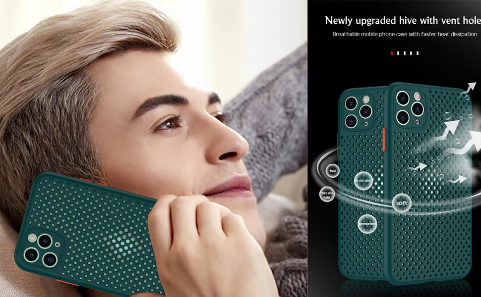 iphone heat dissipation case