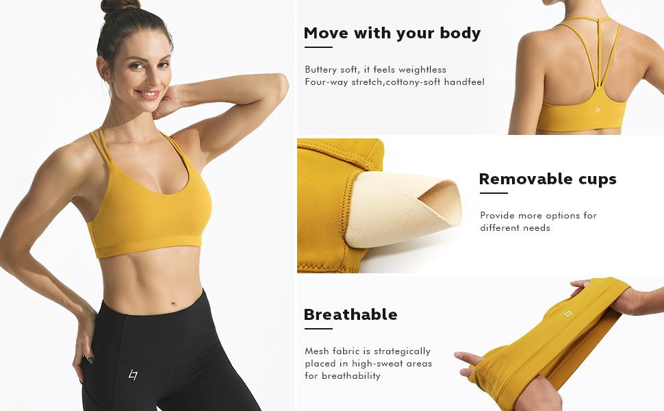 strappy sports bra, sports bras for women, sports bra,women's sports bras